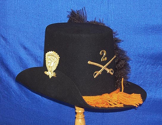 Dragoon US Dress Hat